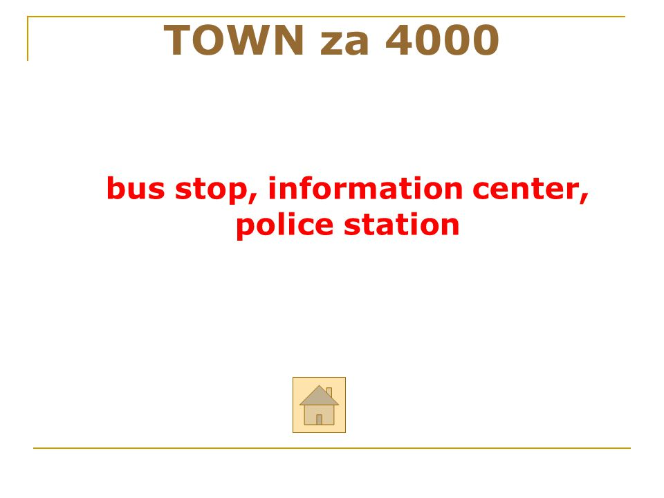 bus stop, information center,