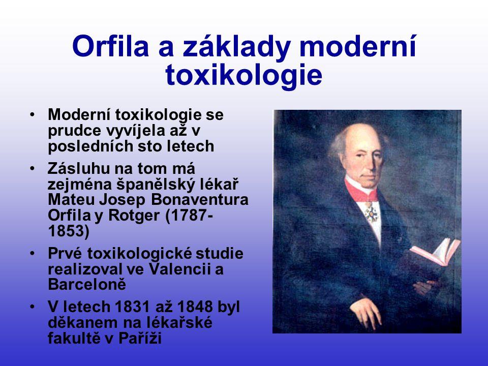 Orfila a základy moderní toxikologie