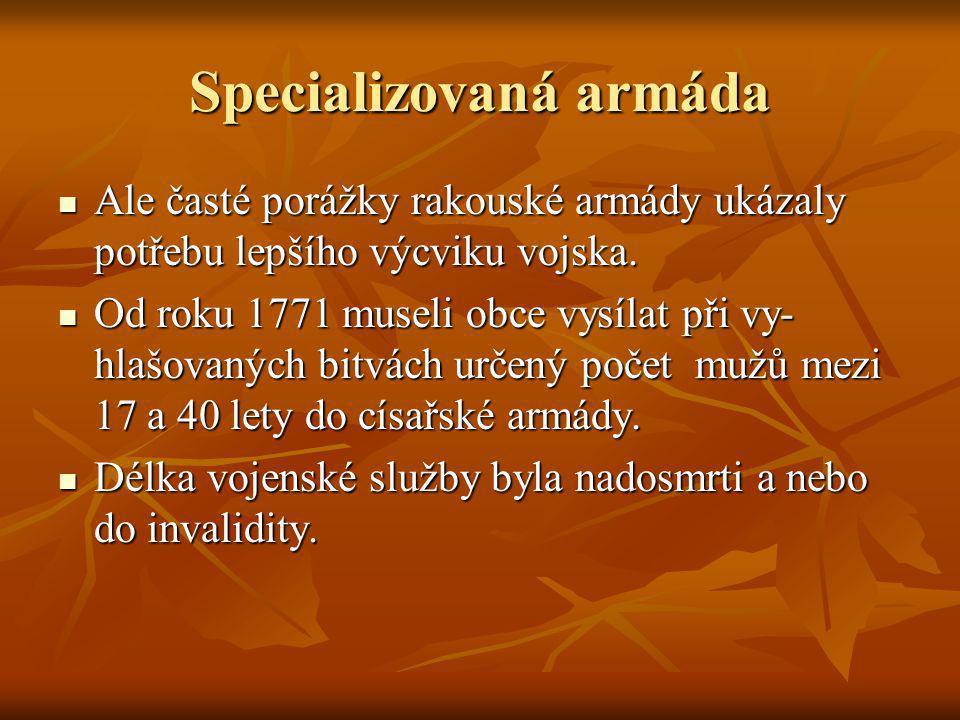 Specializovaná armáda