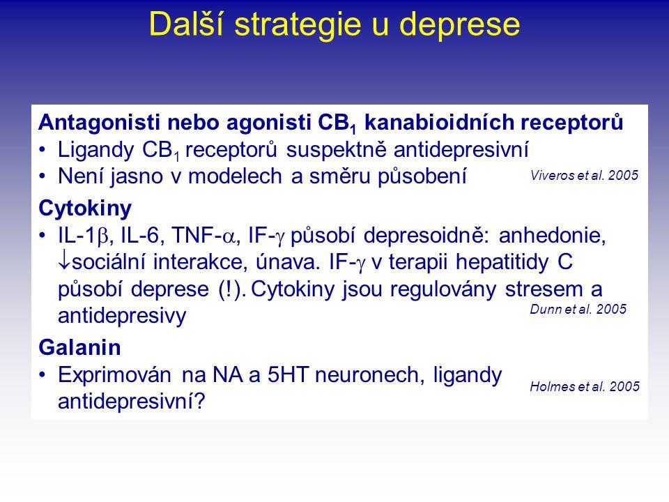 Další strategie u deprese