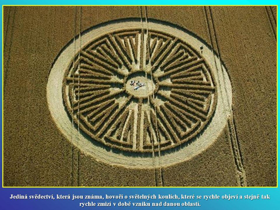 Jediná svědectví, která jsou známa, hovoří o světelných koulích, které se rychle objeví a stejně tak rychle zmizí v době vzniku nad danou oblastí.