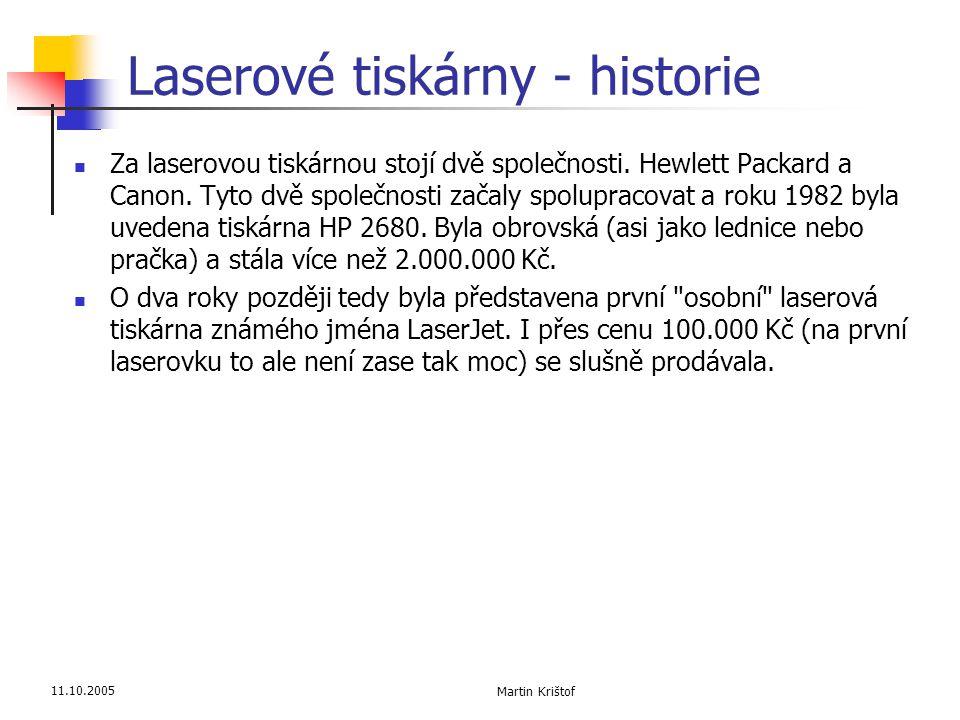 Laserové tiskárny - historie