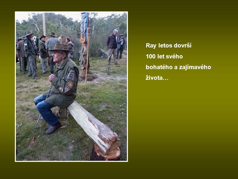 Ray letos dovrší 100 let svého bohatého a zajímavého života…