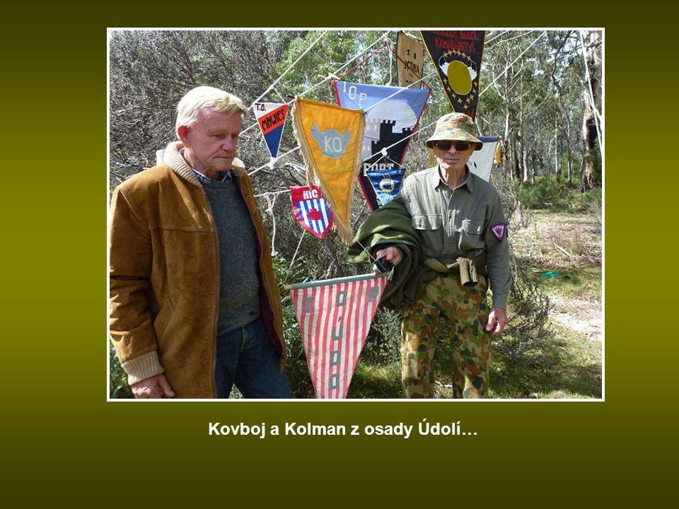 Kovboj a Kolman z osady Údolí…