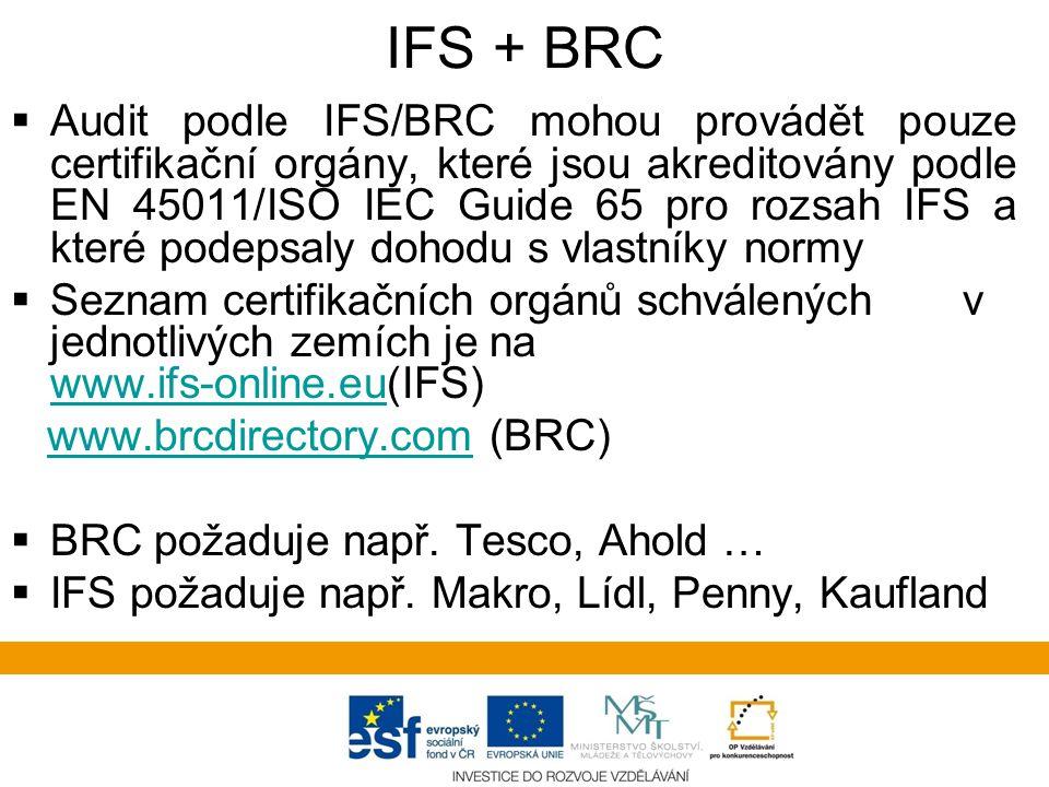 IFS + BRC