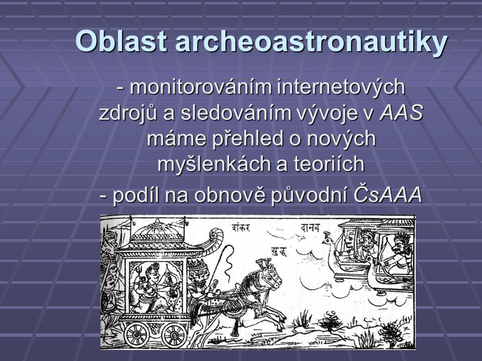 Oblast archeoastronautiky