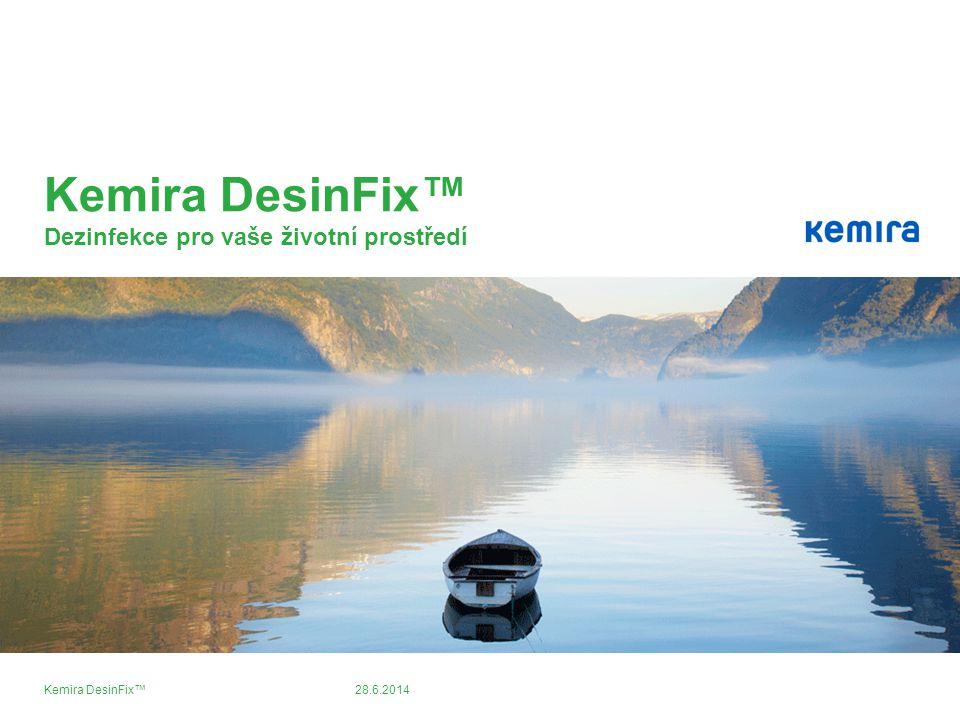 Kemira DesinFix™ Dezinfekce pro vaše životní prostředí
