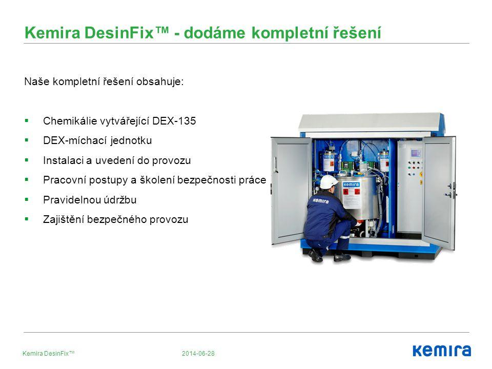 Kemira DesinFix™ - dodáme kompletní řešení