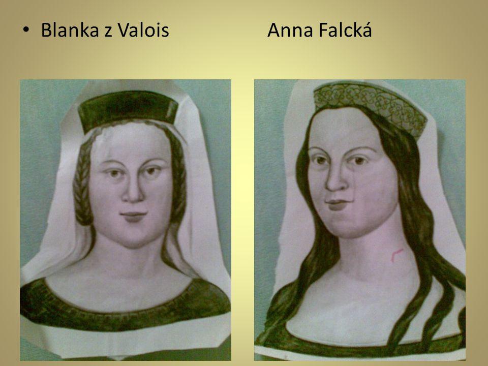 Blanka z Valois Anna Falcká