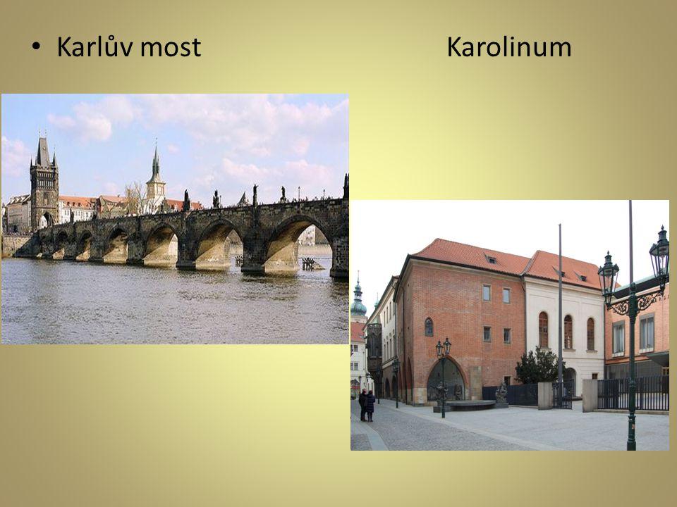 Karlův most Karolinum