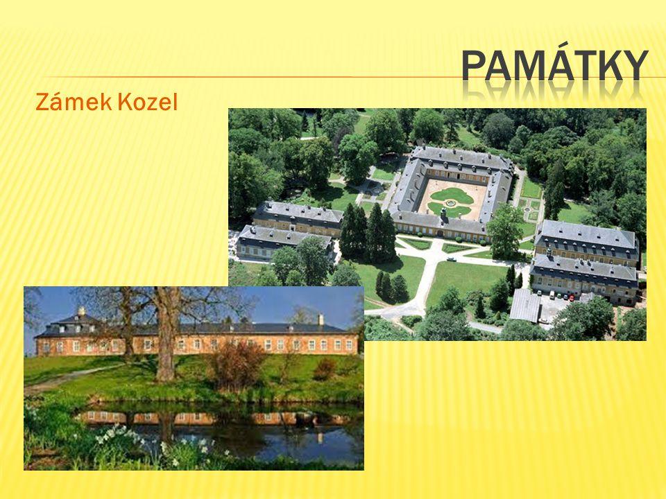památky Zámek Kozel