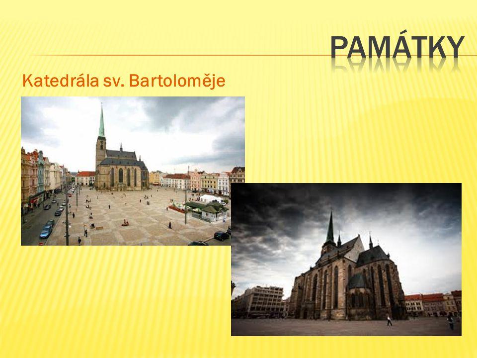 památky Katedrála sv. Bartoloměje