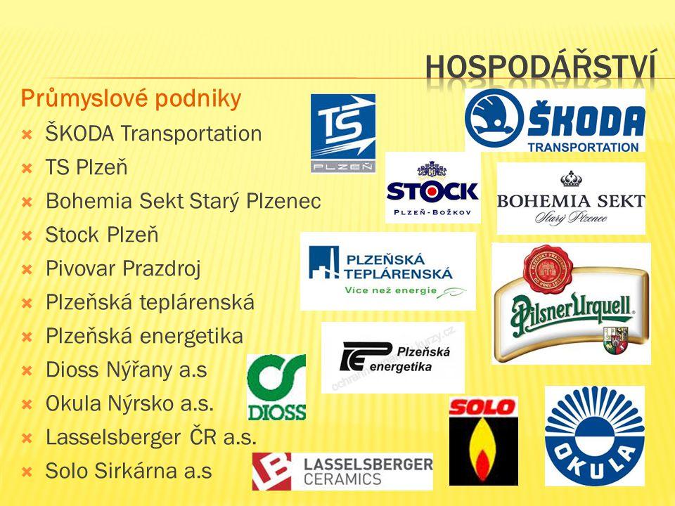 Hospodářství Průmyslové podniky ŠKODA Transportation TS Plzeň