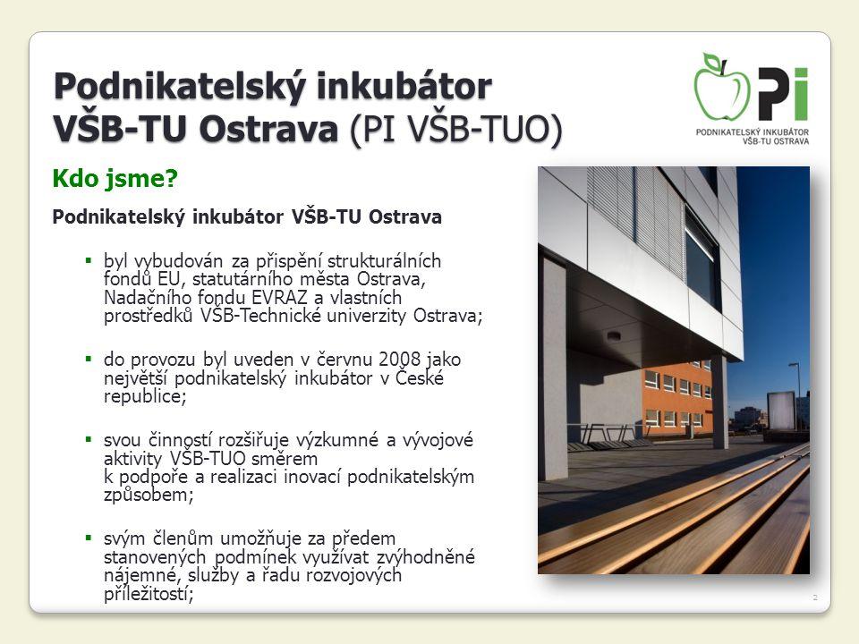 Podnikatelský inkubátor VŠB-TU Ostrava (PI VŠB-TUO)