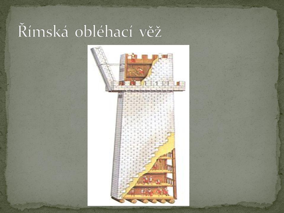 Římská obléhací věž