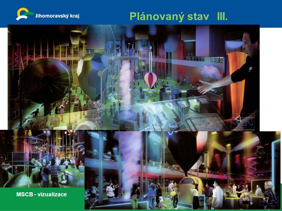 Plánovaný stav III. MSCB - vizualizace