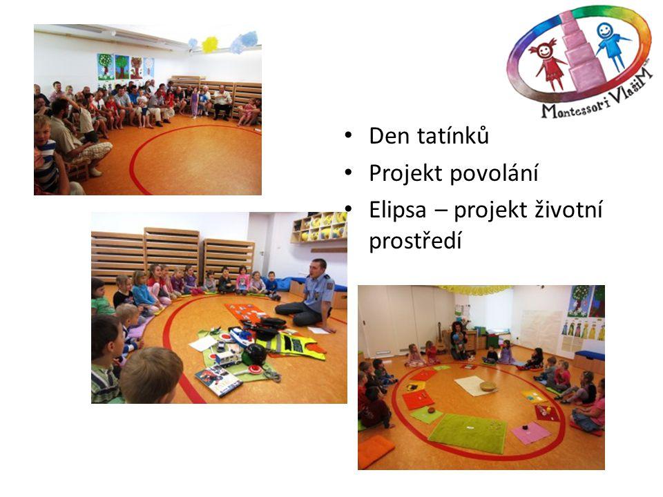 Den tatínků Projekt povolání Elipsa – projekt životní prostředí