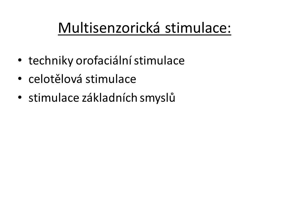 Multisenzorická stimulace:
