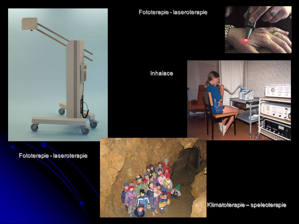 Fototerapie - laseroterapie