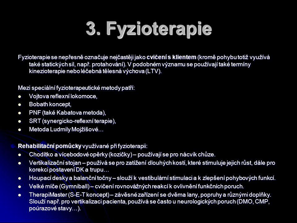 3. Fyzioterapie