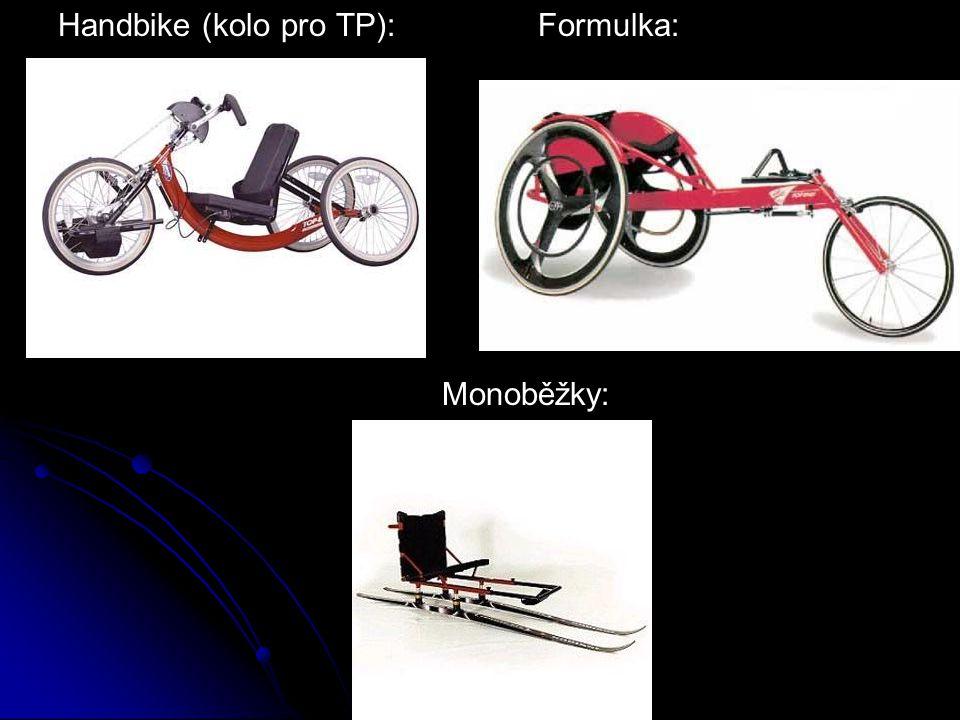 Handbike (kolo pro TP): Formulka: