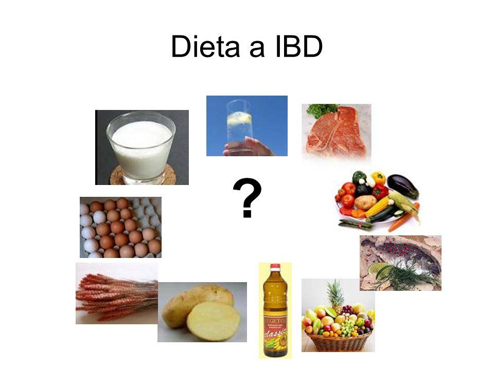 Dieta a IBD