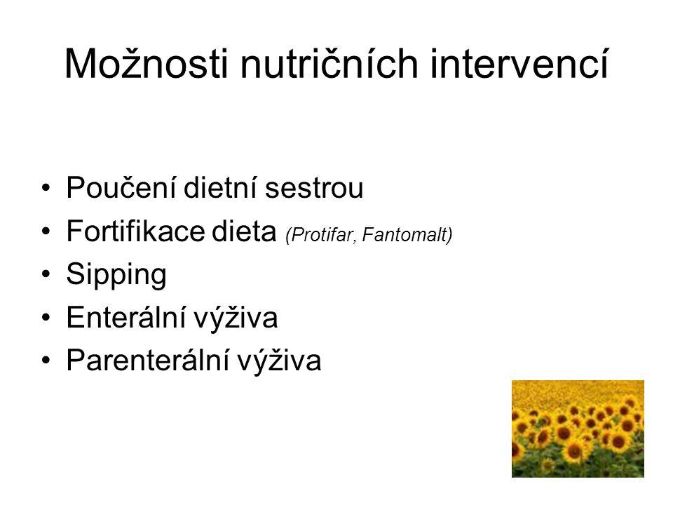 Možnosti nutričních intervencí