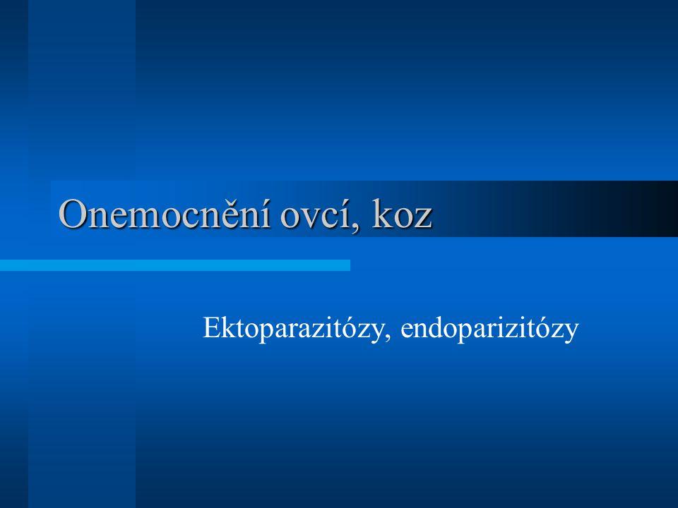 Ektoparazitózy, endoparizitózy