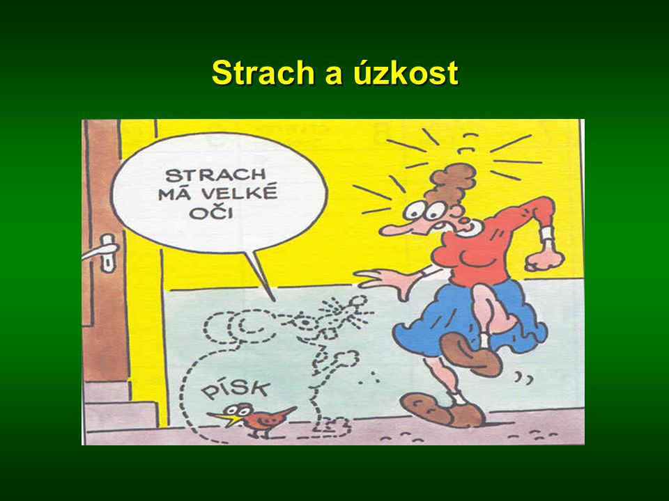 Strach a úzkost