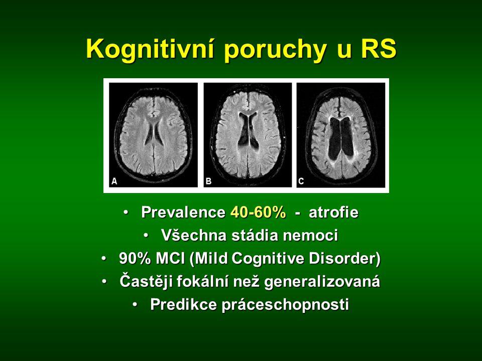 Kognitivní poruchy u RS