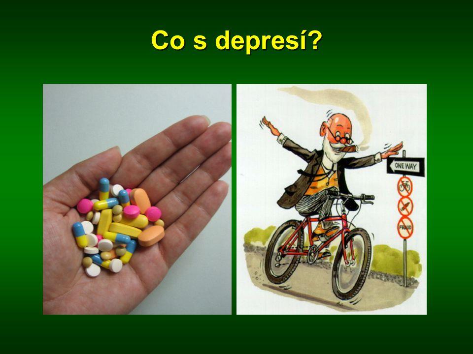 Co s depresí