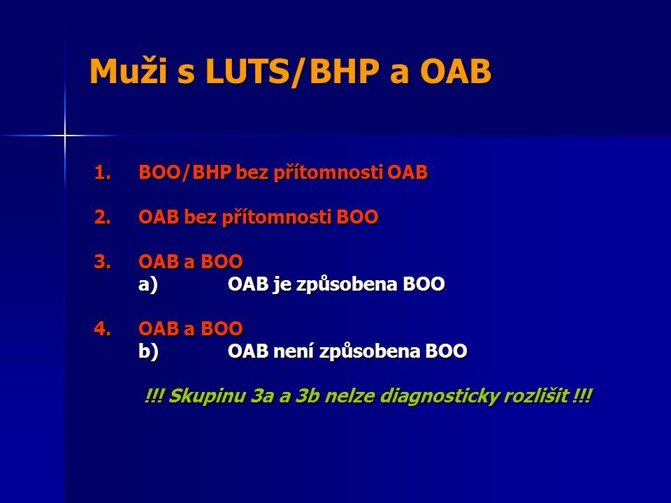 !!! Skupinu 3a a 3b nelze diagnosticky rozlišit !!!