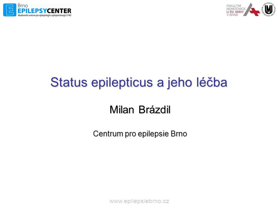 Status epilepticus a jeho léčba