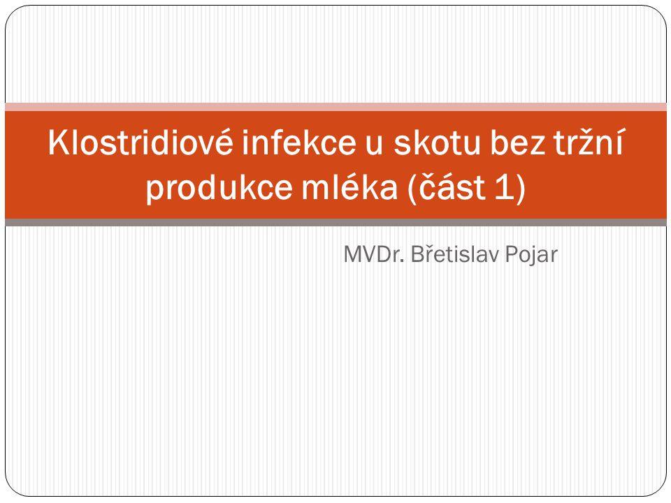 Klostridiové infekce u skotu bez tržní produkce mléka (část 1)