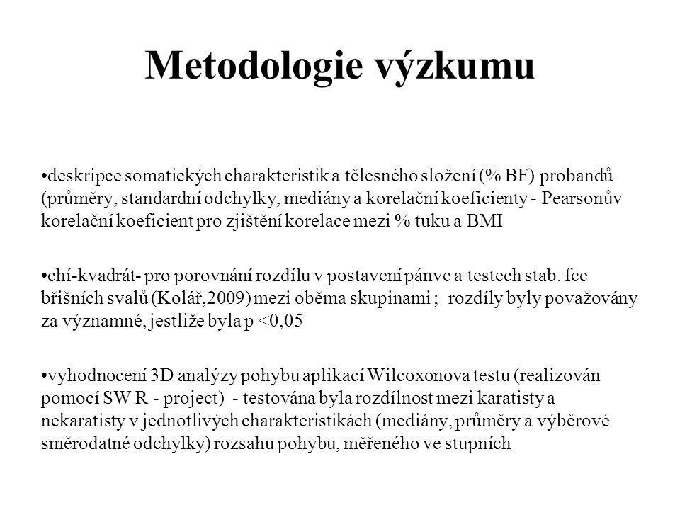 Metodologie výzkumu