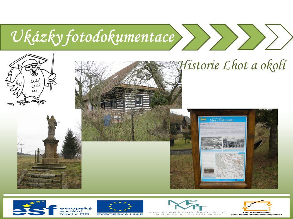 Ukázky fotodokumentace