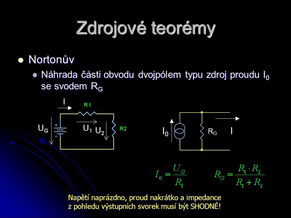 Zdrojové teorémy Nortonův