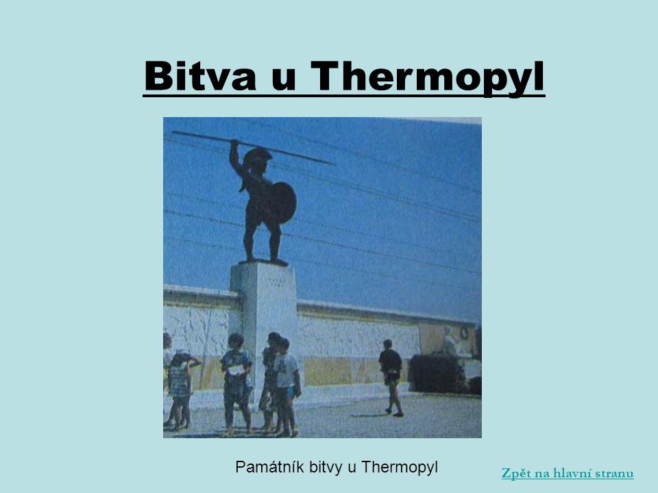 Památník bitvy u Thermopyl