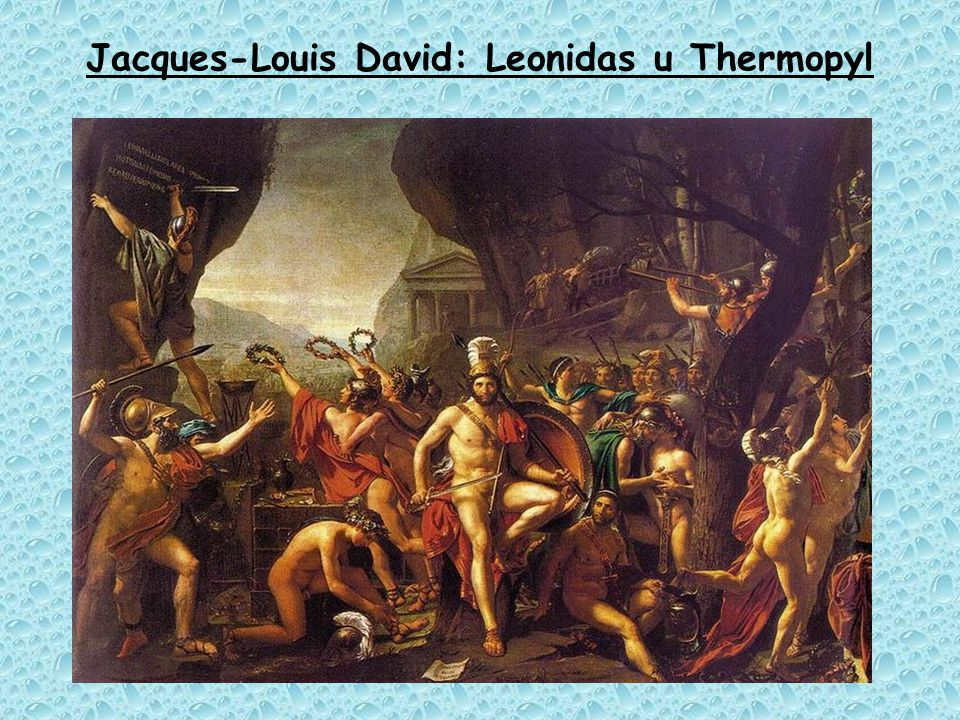 Jacques-Louis David: Leonidas u Thermopyl