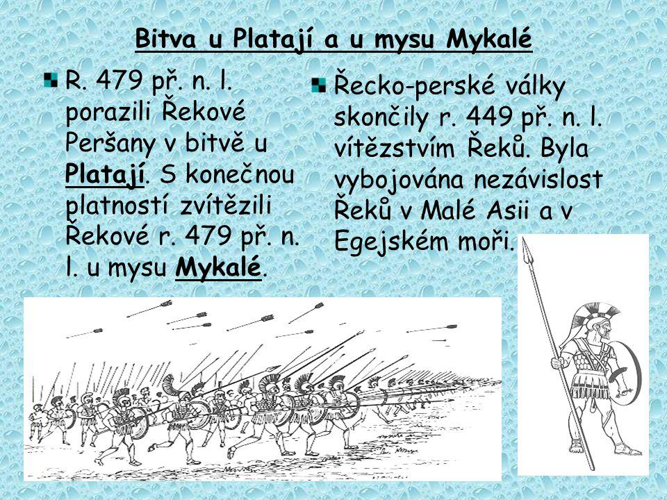 Bitva u Platají a u mysu Mykalé