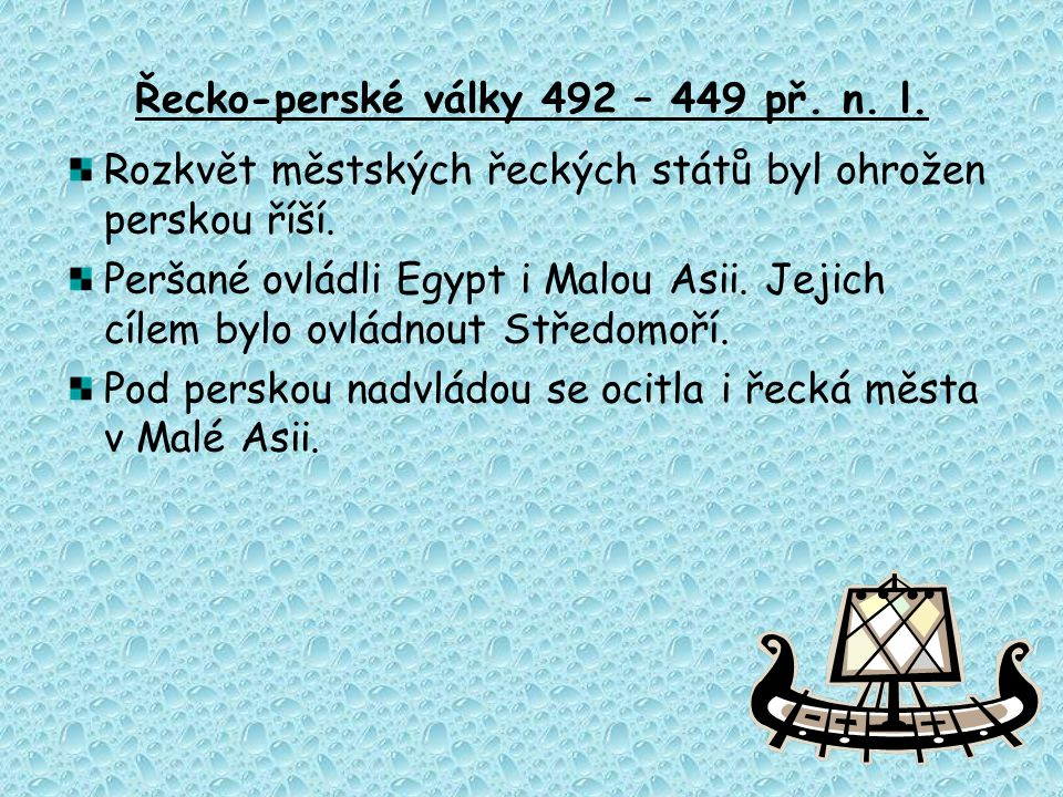 Řecko-perské války 492 – 449 př. n. l.