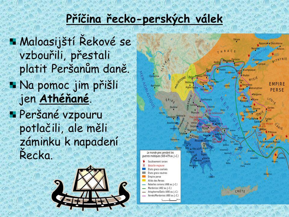 Příčina řecko-perských válek