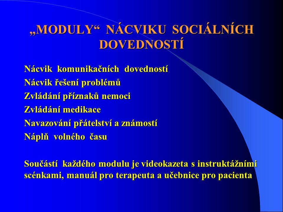 """""""MODULY NÁCVIKU SOCIÁLNÍCH DOVEDNOSTÍ"""