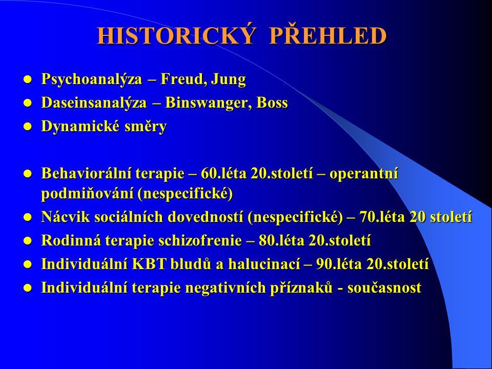 HISTORICKÝ PŘEHLED Psychoanalýza – Freud, Jung