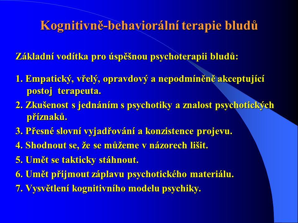 Kognitivně-behaviorální terapie bludů