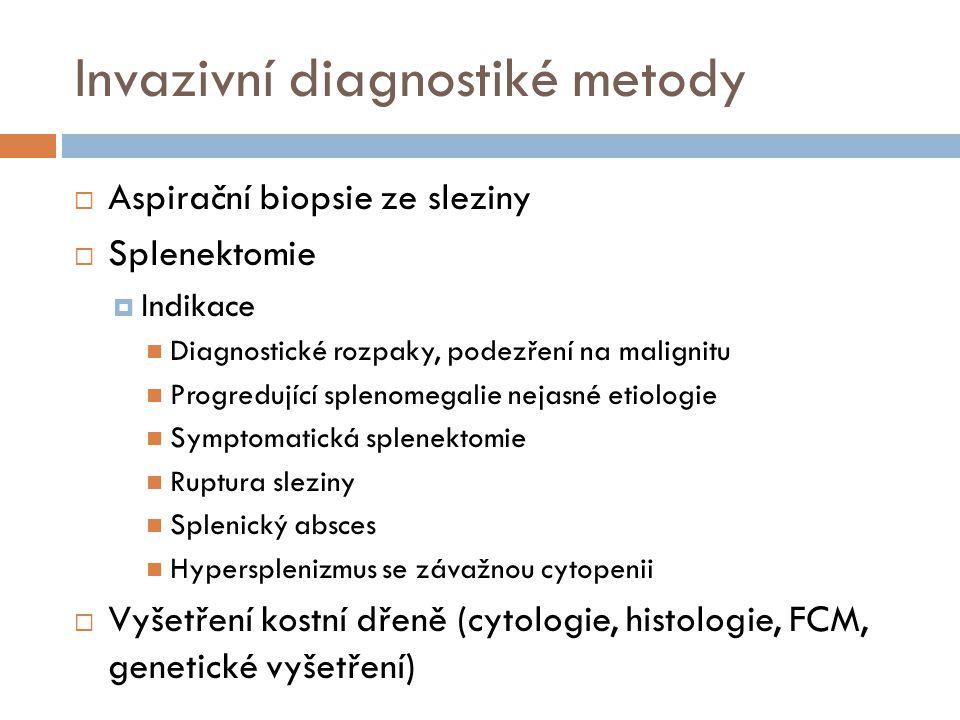 Invazivní diagnostiké metody
