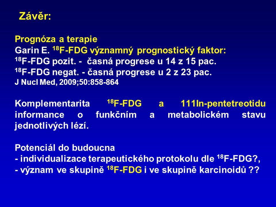 Závěr: Prognóza a terapie