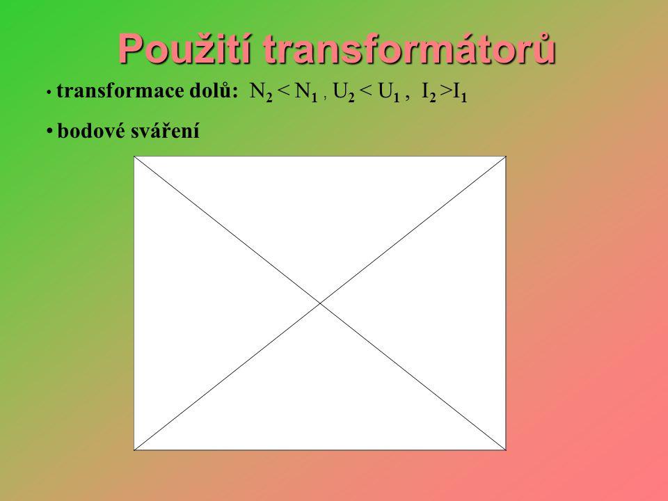 Použití transformátorů