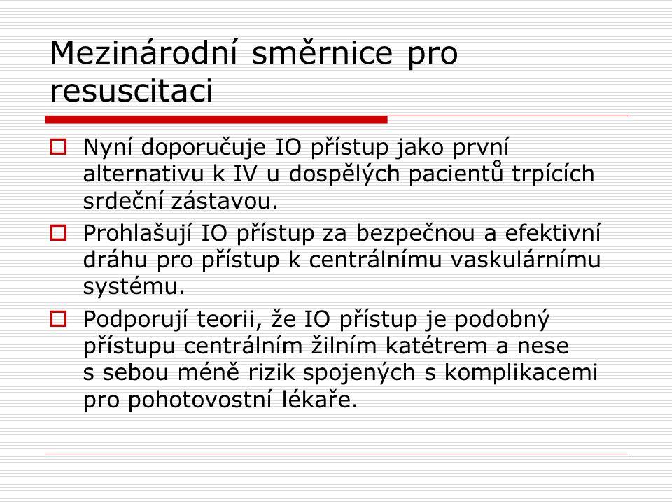 Mezinárodní směrnice pro resuscitaci