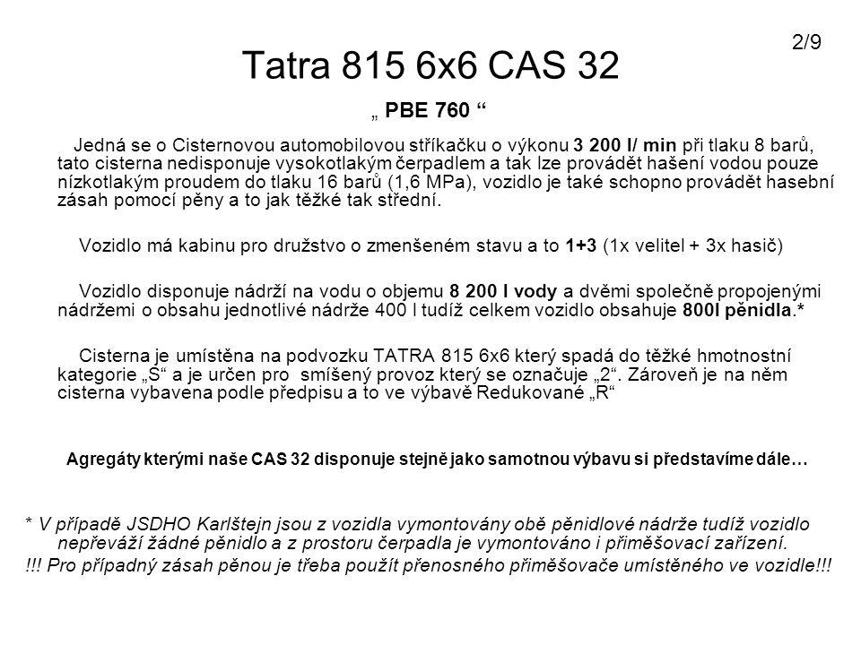 "2/9 Tatra 815 6x6 CAS 32. "" PBE 760"